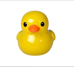 Made In China Custom Cheap Resin Yellow Duck Piggy Bank For Gifts