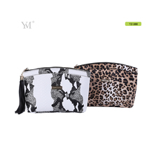 elegant special gift new design pvc leather cosmetic clutch pouch