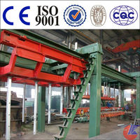ISO9001-2008 Certification high Output block making AAC Production Line