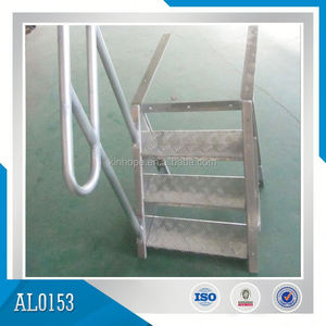 Marine Aluminum Ladders Installed In Ships