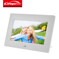 "Cheap desktop use 7"" / 7 inch wall mount lcd digital photo / picture frame"