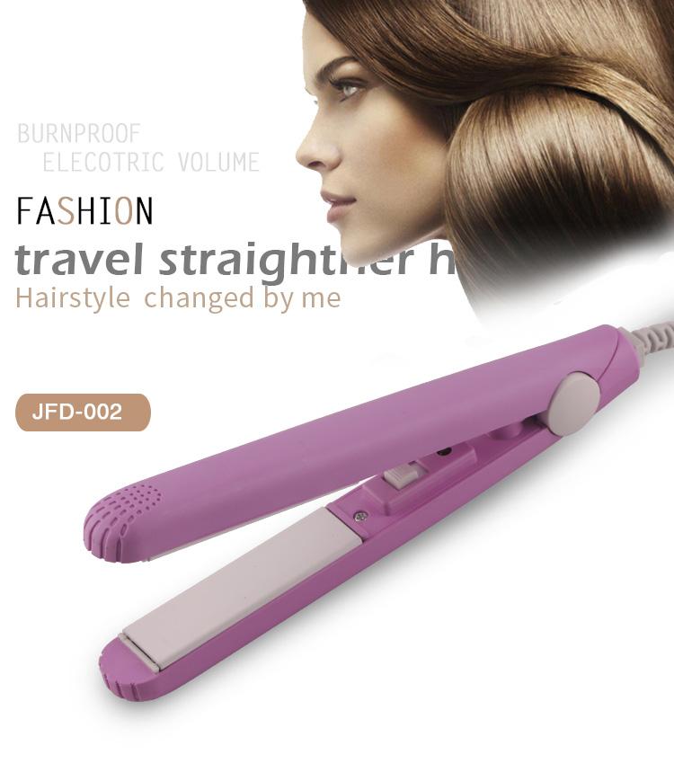 Electric Mini Hair Straightener Flat Iron For Hair