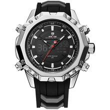 WEIDE WH6406-1C Mode-Design Luxus Marke <span class=keywords><strong>Digitaluhr</strong></span> LCD Display 3atm Wasserdicht Herrenuhr