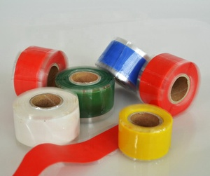 Self Fusing Silicone Rubber Electrical Tape for Protecting High Voltage Cables