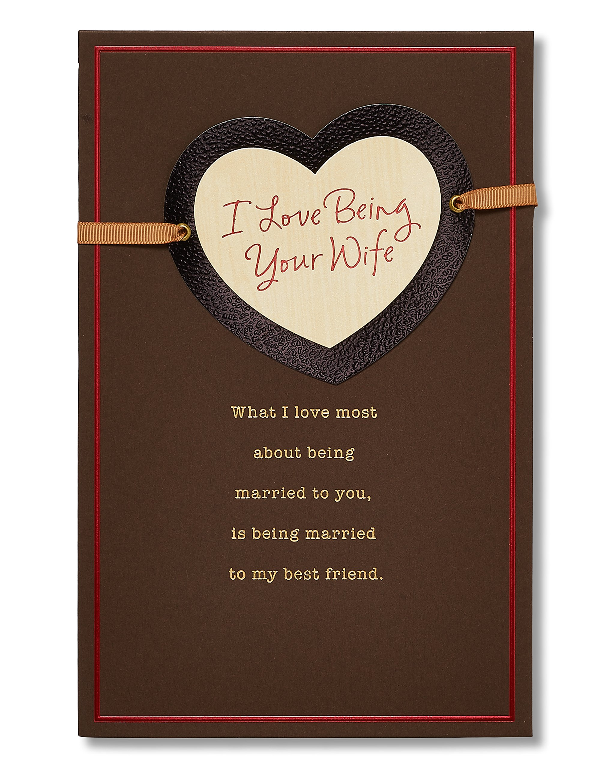 Buy American Greetings Love Being Your Wife Sentimental Valentines
