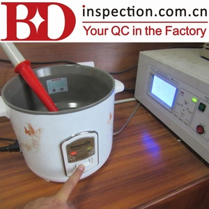 Testing sample inspection visual inspection asia inspection for rice cooker