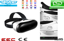New trending 2017 3d VR glasses virtual 3D Google Glass for video,gaming and 3D film