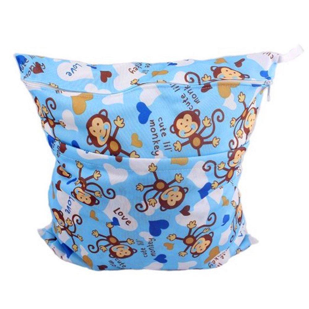 1e42260700d1 Kangkang@ Monkey Wet Bags Waterproof Diaper Bag Multi-function Nappy Bag  -14