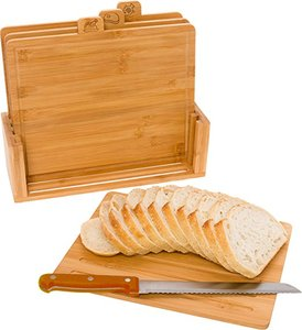 Eco-friendly food grade kitchen usage multi-functional bamboo chopping board