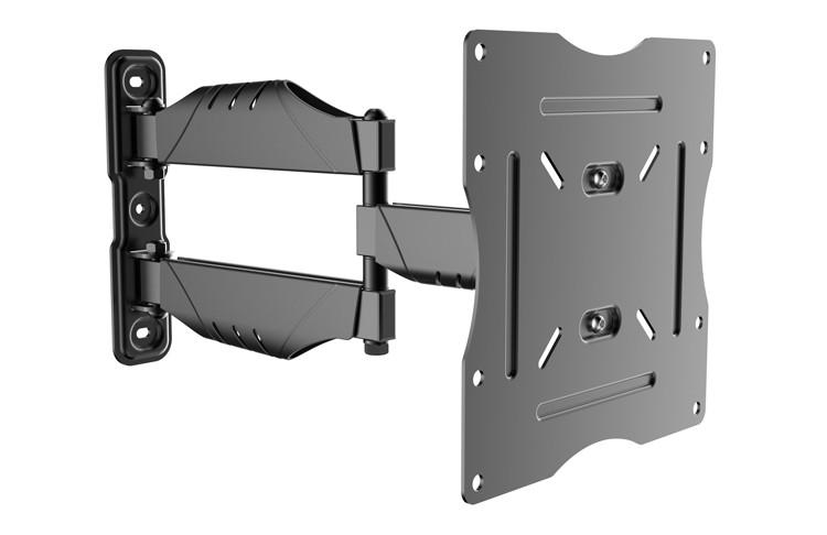 grados giratoria de pared ajustable soporte angular montaje en mueble tv vesa monturas para television