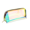 Clear TPU/PVC Holographic Ladies Waterproof Cosmetic Toiletry Bag