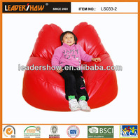 Wholesale fashionable decorative jelly bean bag for living room