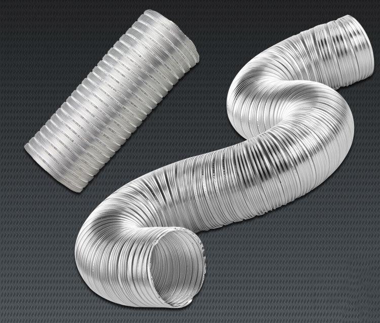 Fire Resist Aluminum Flexible Duct Semi Rigid Dryer Vent