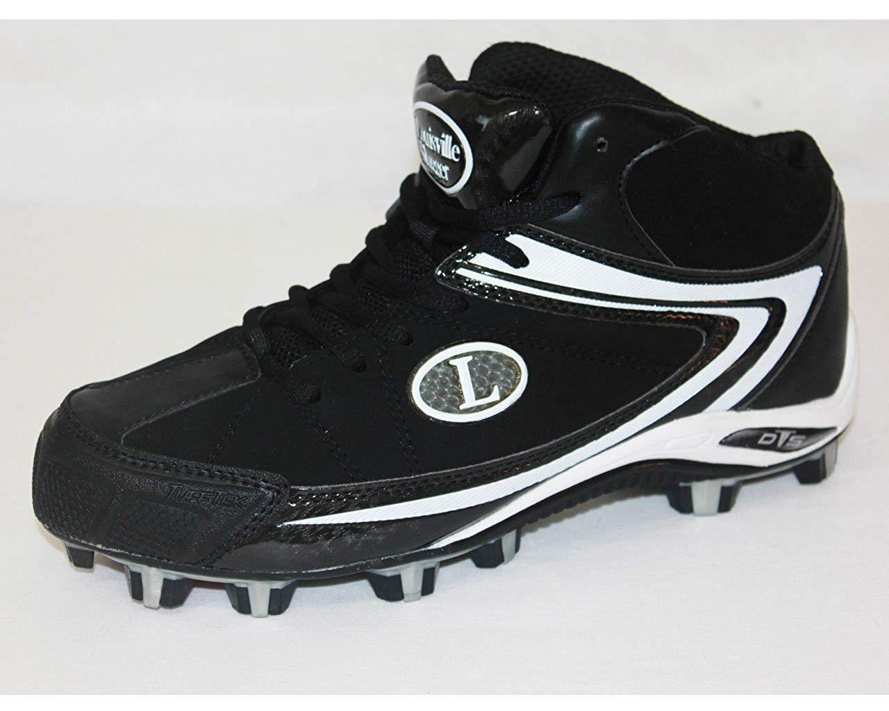 best authentic a90fe d60ea Get Quotations · Louisville Slugger Mens Athletic Baseball Cleats-Size 9.5