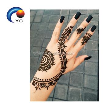 India Henna Style India Personality Henna Body Temporary Tattoo