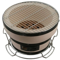 Tabletop Japanese Ceramic BBQ Grill/ Mini Japanese Clay BBQ Oven For Sale