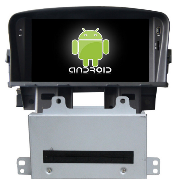 Quad Core Android car dvd player for Chevrolet Cruze 2012 with car gps car auido, BT,video