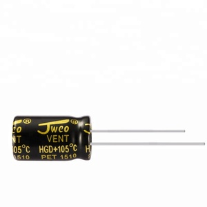 Hot sale through hole aluminium electrolytic capacitor with high voltage