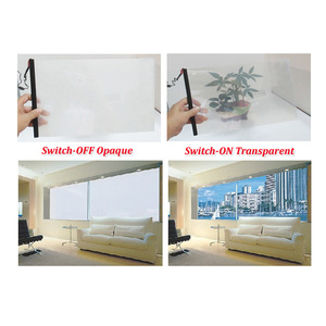 Opaque and Transparent Magic Electric Window Film Supply