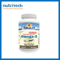 GMP Certified companies 1000mg Omega 3 Fish Oil
