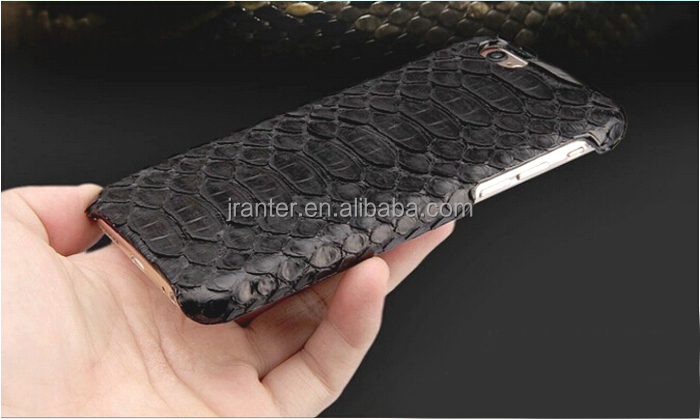 Luxury Python Snakeskin Fancy Cell Phone Covers Custom Back Cover for iPhone 6