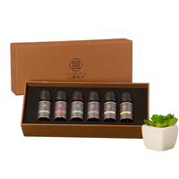OEM/ODM custom private label 100% Pure essential oils set aromatherapy gift set