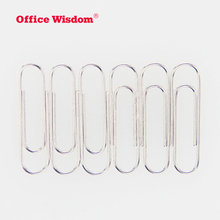 28 mm metal Silver giant paperclip Custom Logo Stainless Steel Paper Clip