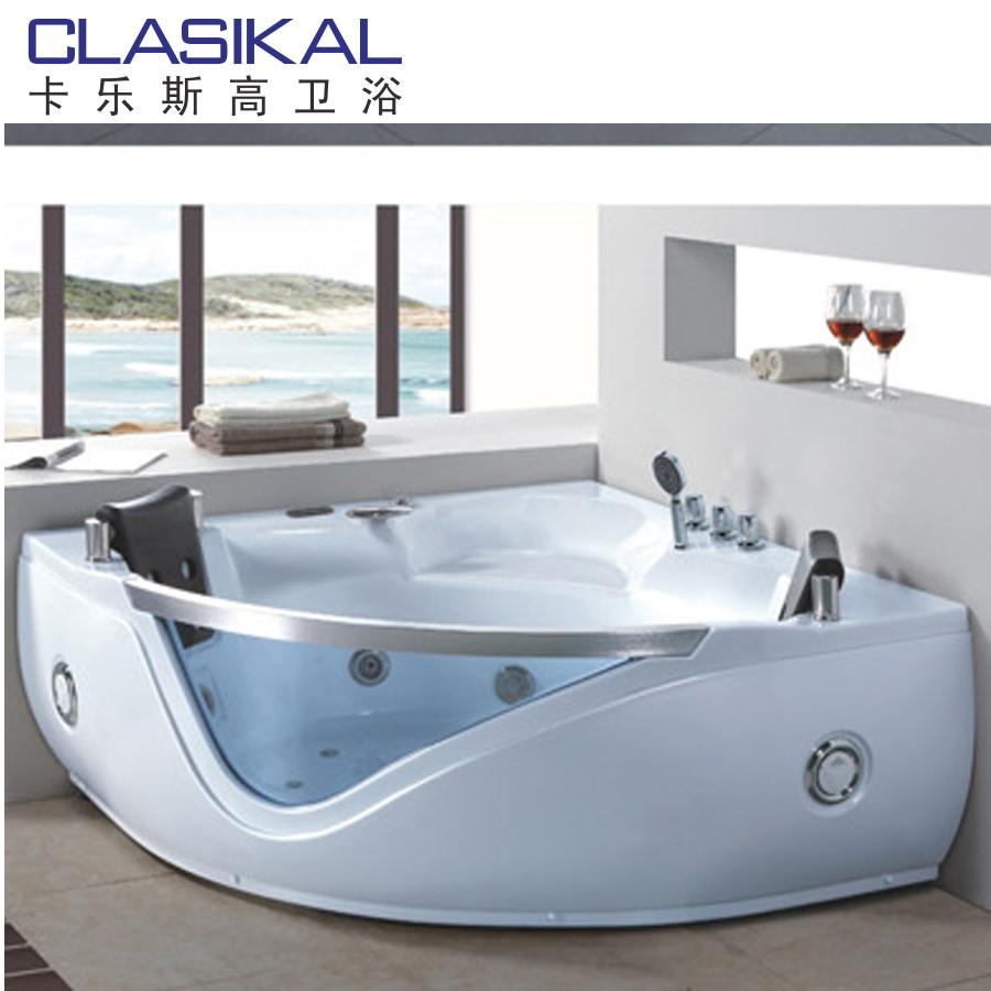 fabricant baignoire Chine fabricant autoportante acrylique pas cher baignoire à remous