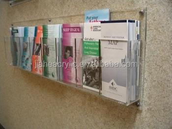 wall brochure holder