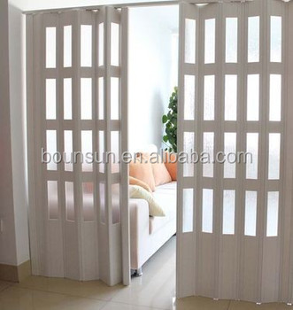 Living Room Divider Glass Pvc Accordion Doors Buy Pvc