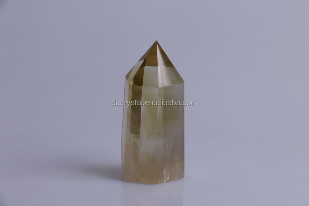 Natural Citrine Quartz Crystal single Terminated Point