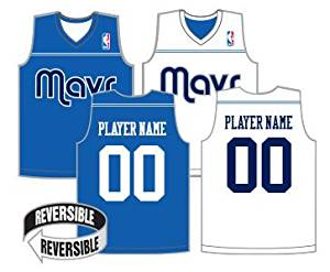 48c932299cb Get Quotations · NBA Reversible Jerseys (CUSTOM or Blank Back) Officially  Licensed Alleson Replicas (All 30