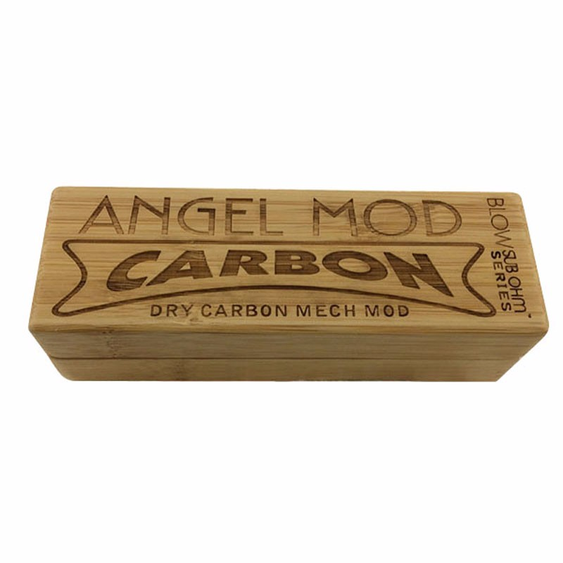 Lighter Bamboo Box with Laser-engraving Logo