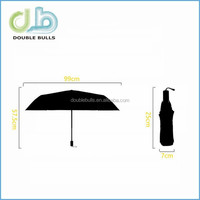Custom China manufacturer Big Flower 3 fold umbrella 3 fold TOTES