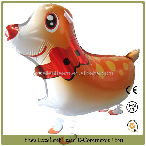 walking pet balloon walking dog balloon helium pet balloons