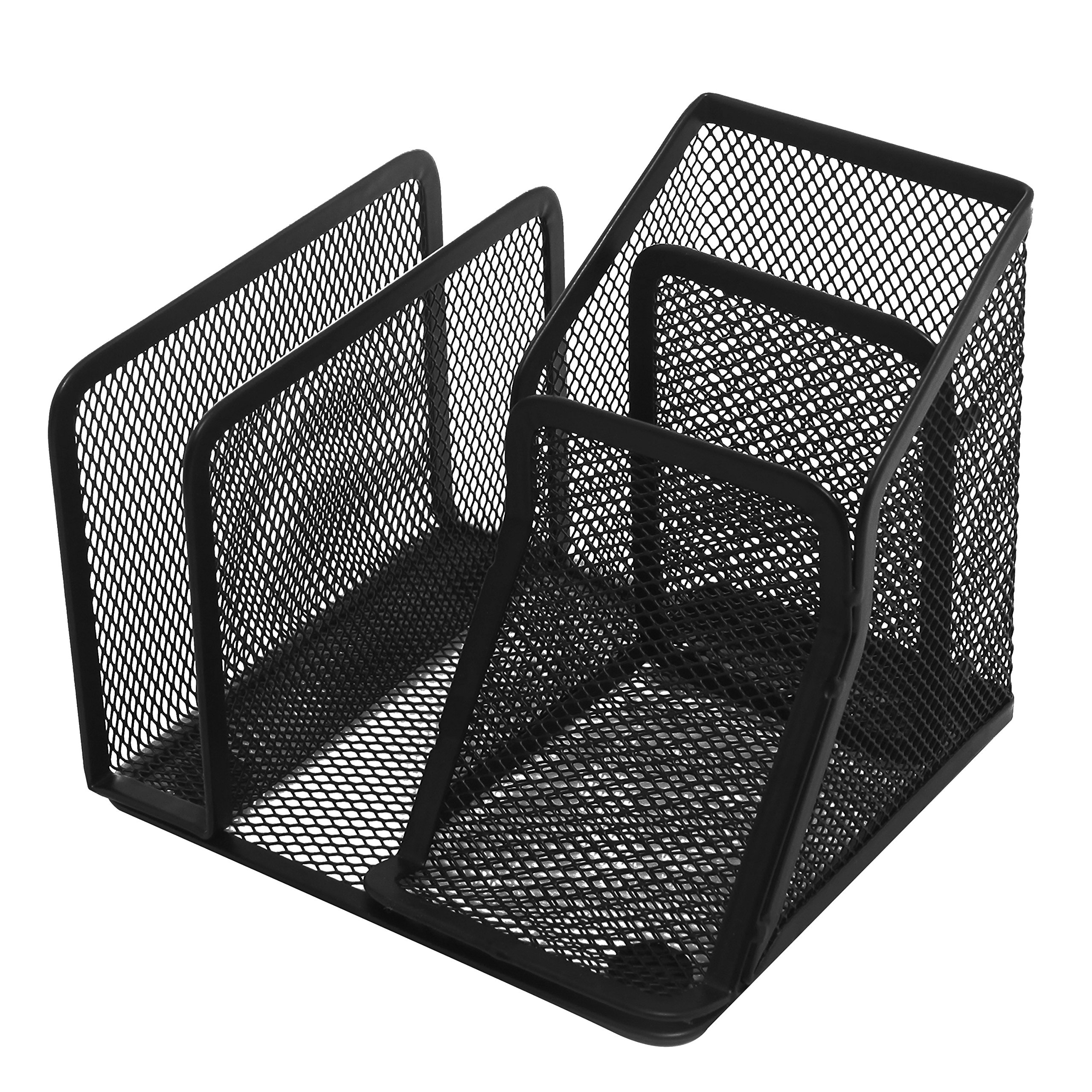 Cheap metal mail sorter find metal mail sorter deals on line at get quotations black metal mesh office supplies organizer storage caddy rack w business card holder mail colourmoves