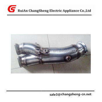 New High Quality Downpipe Exhaust E82 E88 135i E90 E92 335i Single Turbo  N55b30 Motor - Buy Downpipe,Downpipe Exhaust,Stainless Steel Exhaust Pipe