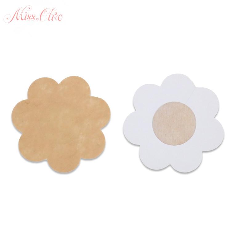 Self Adhensive Nipple Covers Disposable Lingerie Breast Pasties Petals 8 Pairs