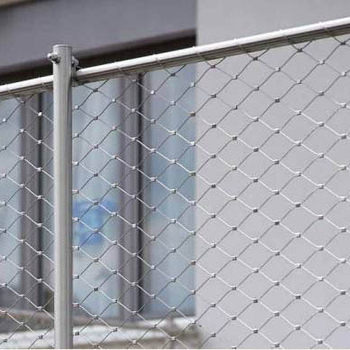 Stainless steel wire mesh for safety fence /316L Stainless steel wire mesh