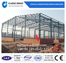 Low Cost Quick Build Prefabricated Steel Structure Warehouse