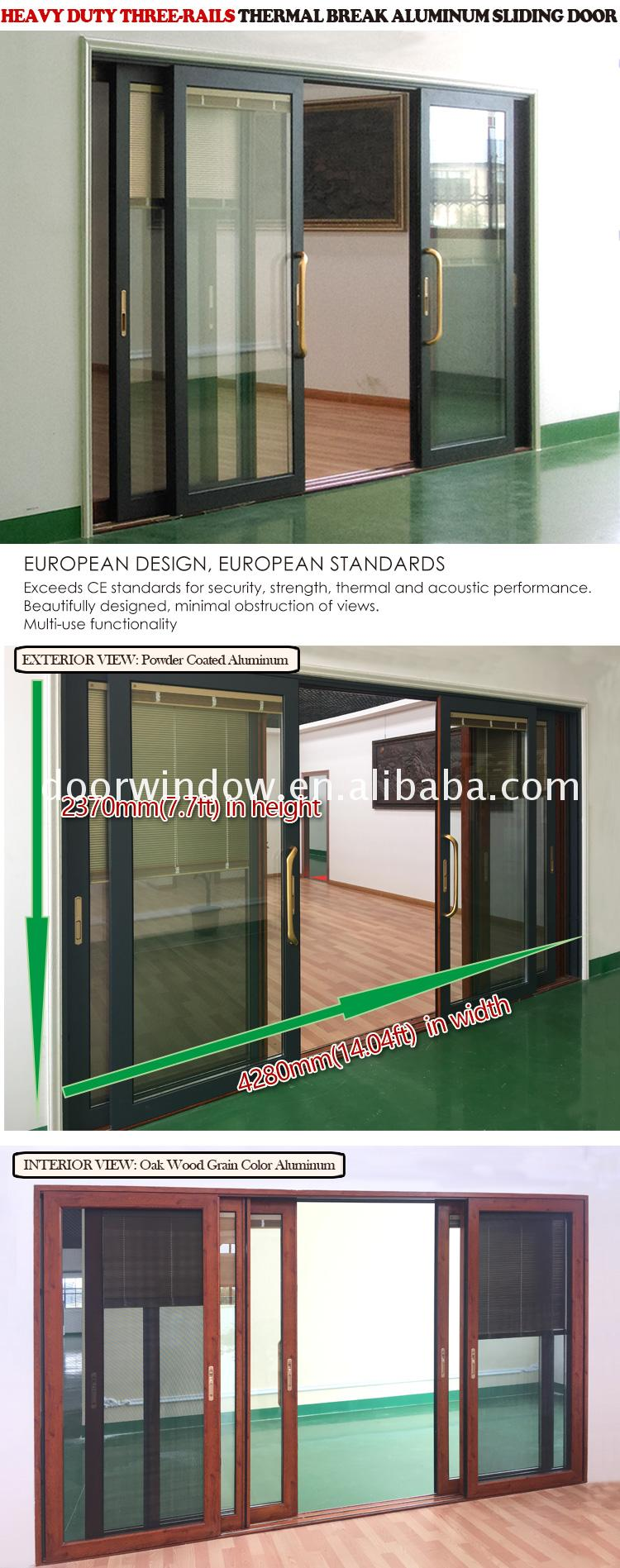 Manufactory direct a sliding door 4 panel solid oak internal doors core