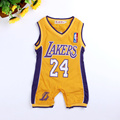 Baby Boys Clothes Newborn Jumpsuit For Infant Boys Clothing Baby Costumes Laker Basketball Baby Sport Rompers