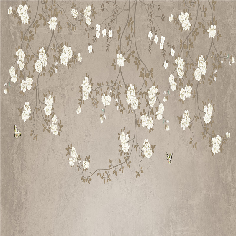 custom modern decorative non-woven fabrics textured wallpaper for office walls