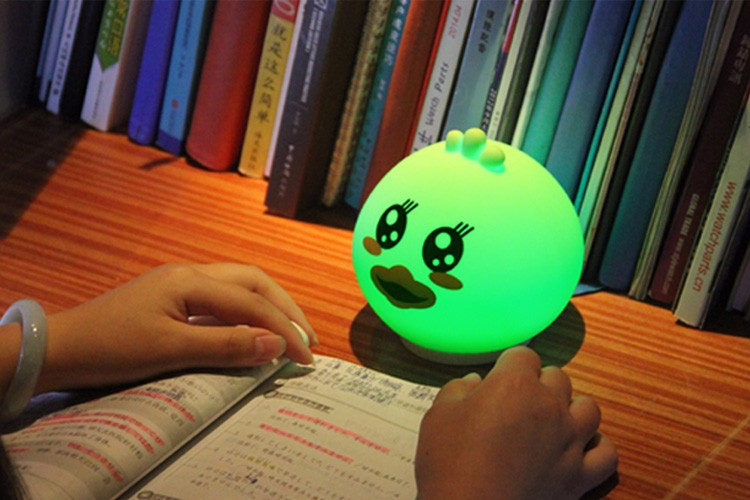 Colorful Silicone Led Gift Lights For Children