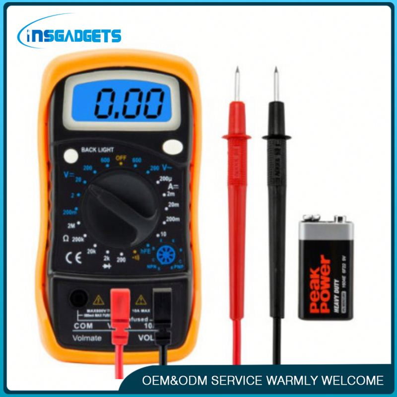 Led digital multimeter temperature measurement ,h0tfq pen type digital multimeter for sale