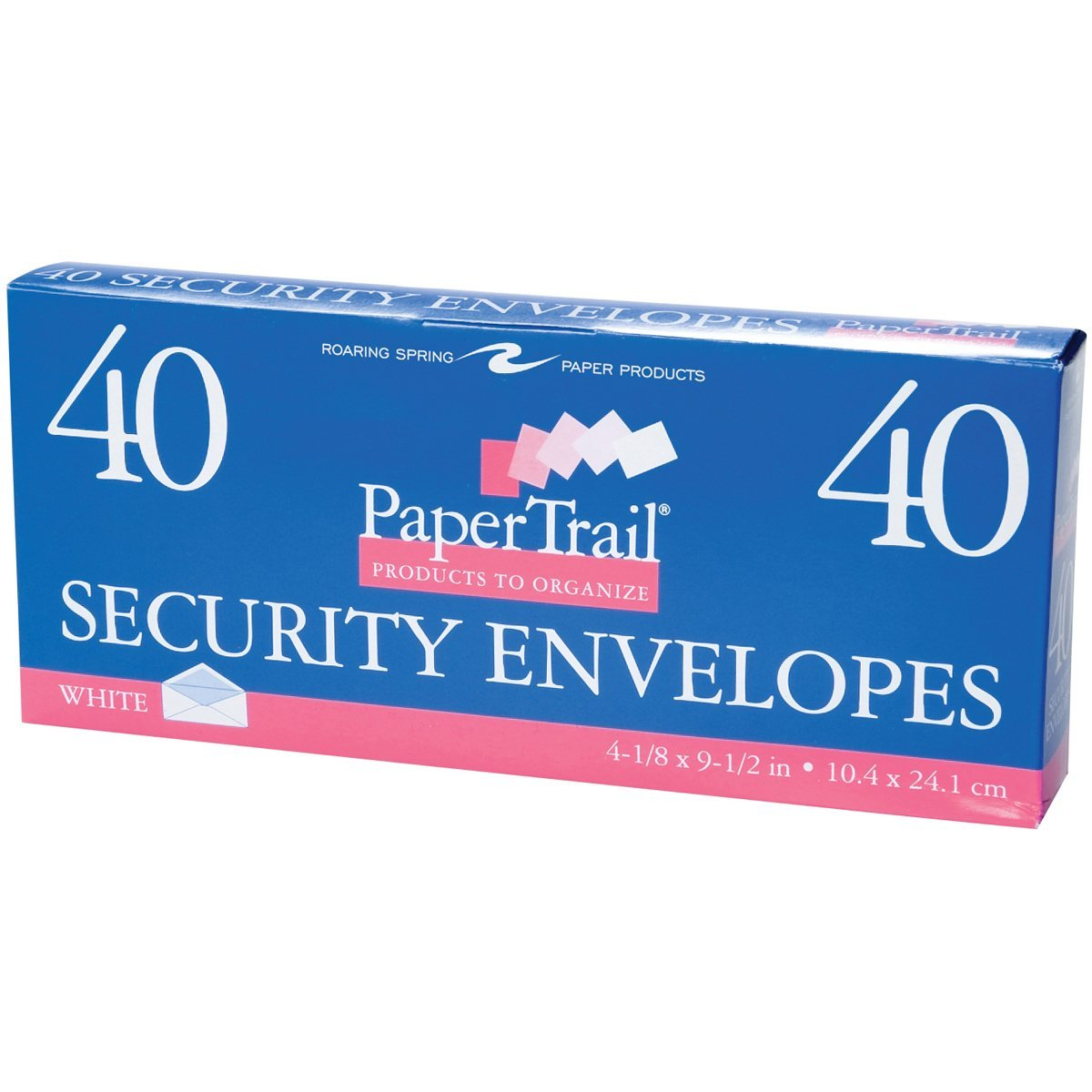 "Boxed Envelopes 4-1/8""X9-1/2"" 40/Pkg-Security #10"