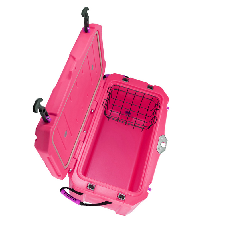Rotomotional plastic ice box container/iglo ice box pack