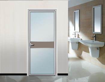 Interior Frosted Glass Bathroom Door Aluminum Frame Interior Door Buy Interior Frosted Glass