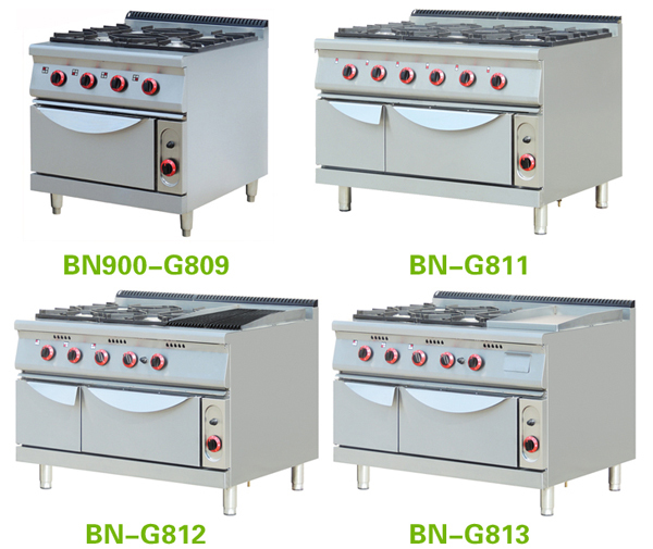 Chinese Restaurant Kitchen Equipment chinese restaurant equipment long gas 8 burner cooking range with