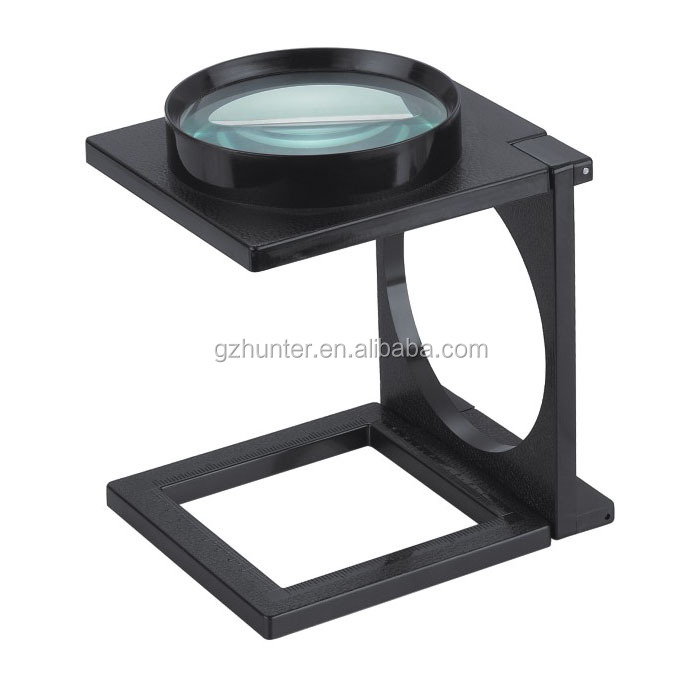MG14116 foldable desktop magnifier and Hot sale magnifier with LED light